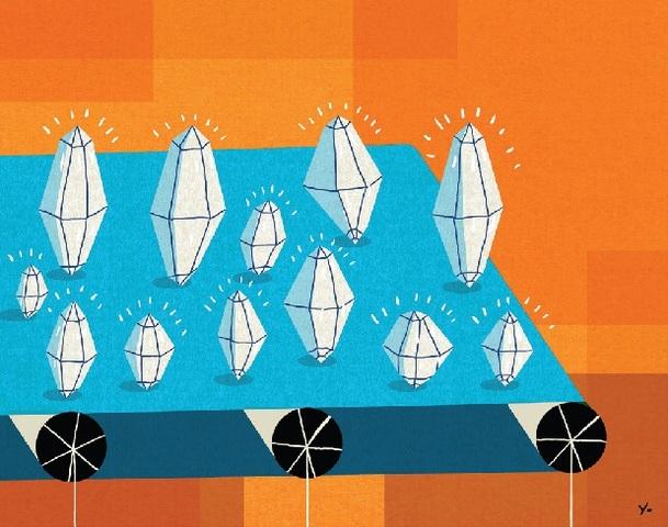 искуственные алмазы