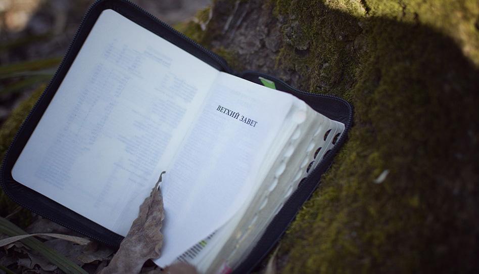 фотография заглавной страницы ветхого завета